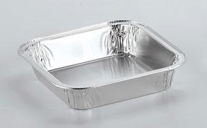 Barquettes en aluminium alimentaire Rectangulaires Q1G