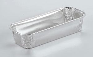 Barquettes en aluminium alimentaire Rectangulaires R28G