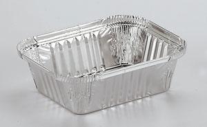 Barquettes en aluminium alimentaire Rectangulaires R46L