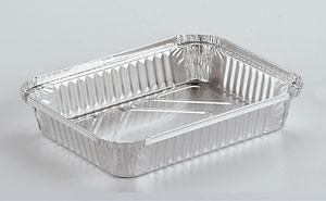 Barquettes en aluminium alimentaire Rectangulaires R51