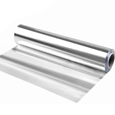 Bisphenol-free aluminum foil roll