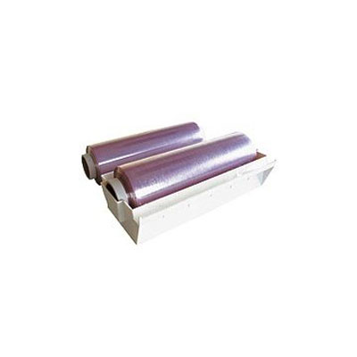 Heat resistant food stretch film roll