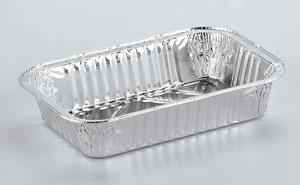 Barquettes en aluminium alimentaire Rectangulaires R22G