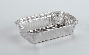 Barquettes en aluminium alimentaire Rectangulaires R52L